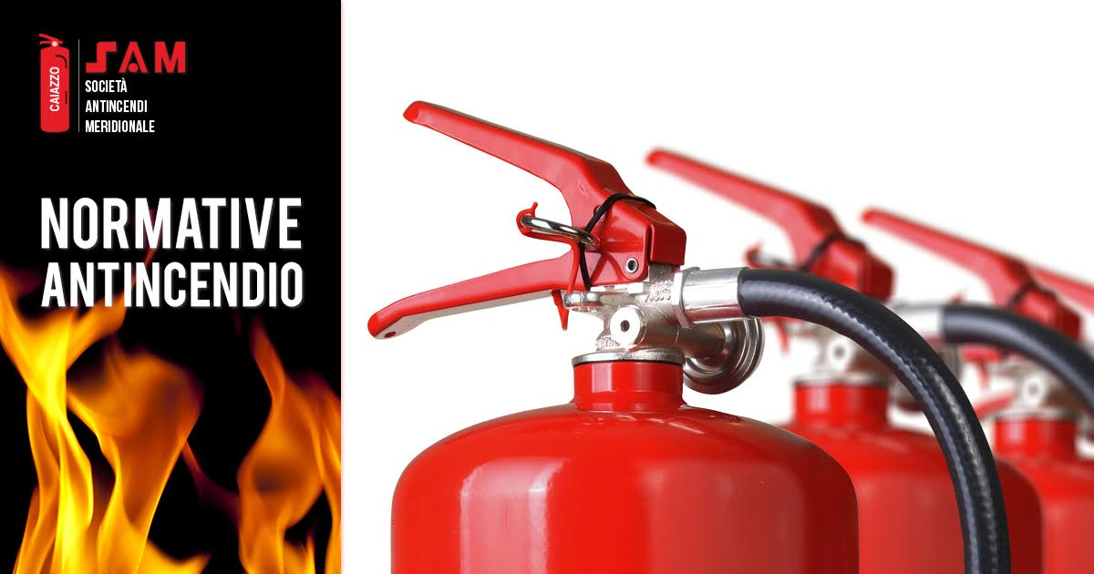 Normative anti incendio sugli estintori: leggi, regole e sanzioni per i datori di lavoro